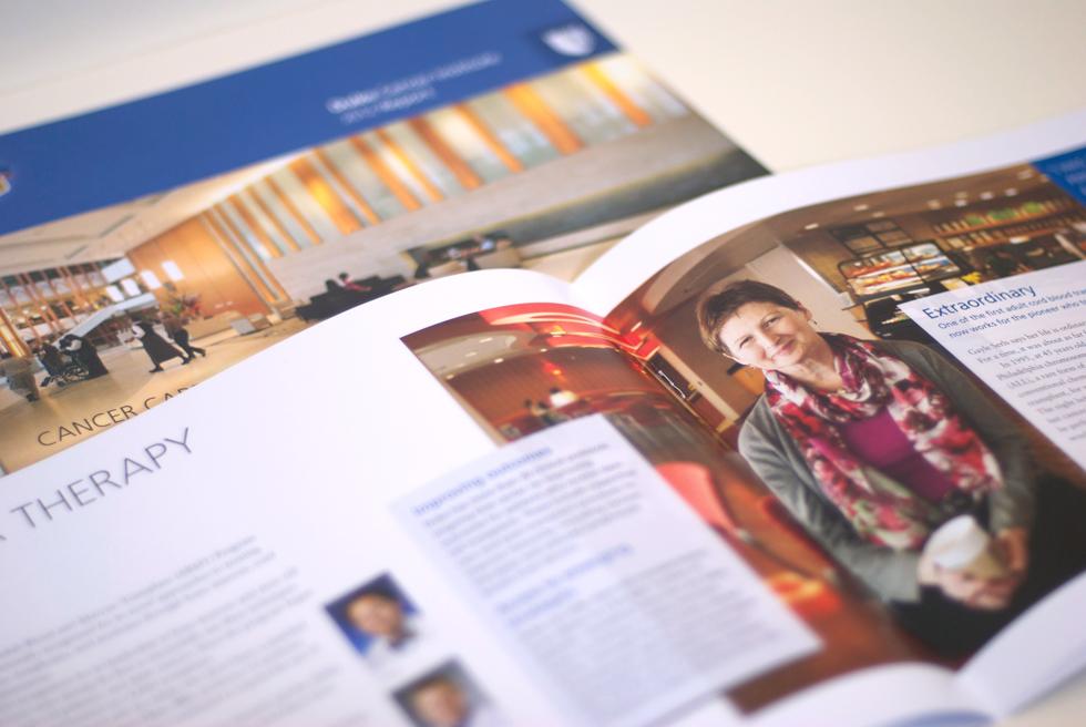Duke Cancer Institute brochure detail