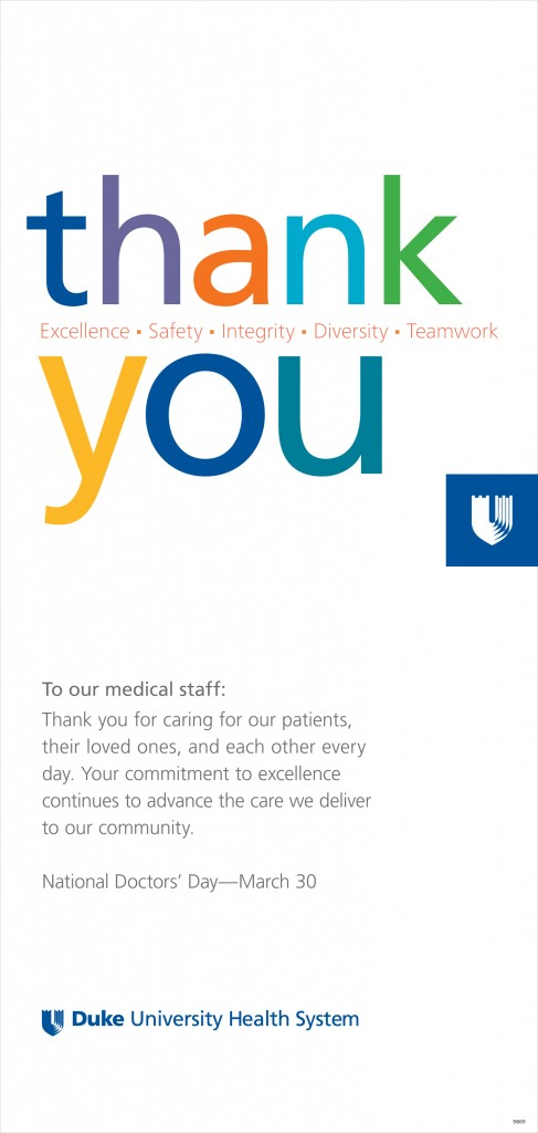 2013 Doctors Day ad