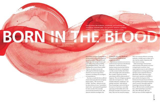 DukeMed magazine Winter 2009 blood