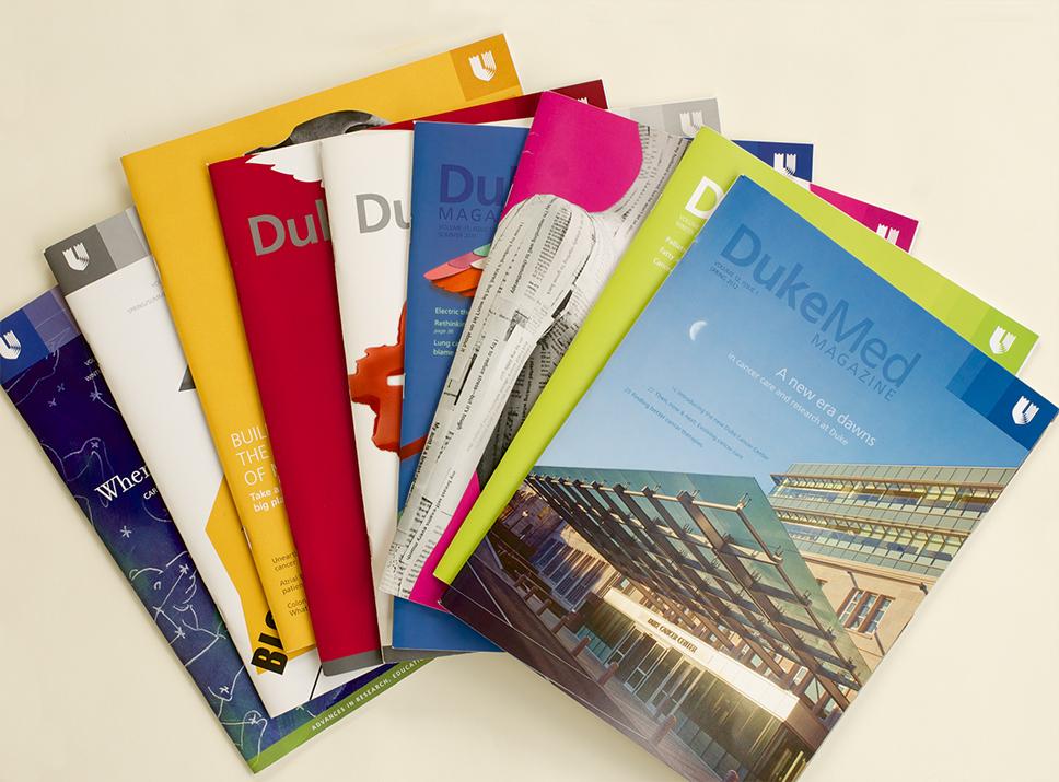 DukeMed Magazine covers