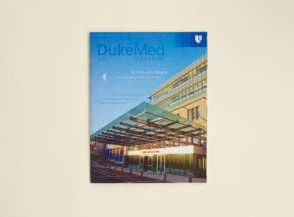 DukeMed Magazine Spring 2012 cover