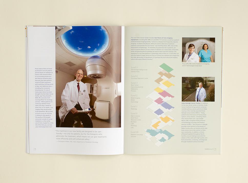 DukeMed Magazine Spring 2012 interior pages 4