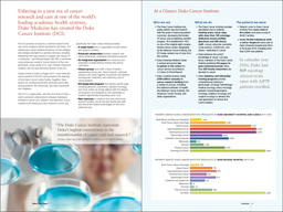 Cancer Report 2011 spread 1