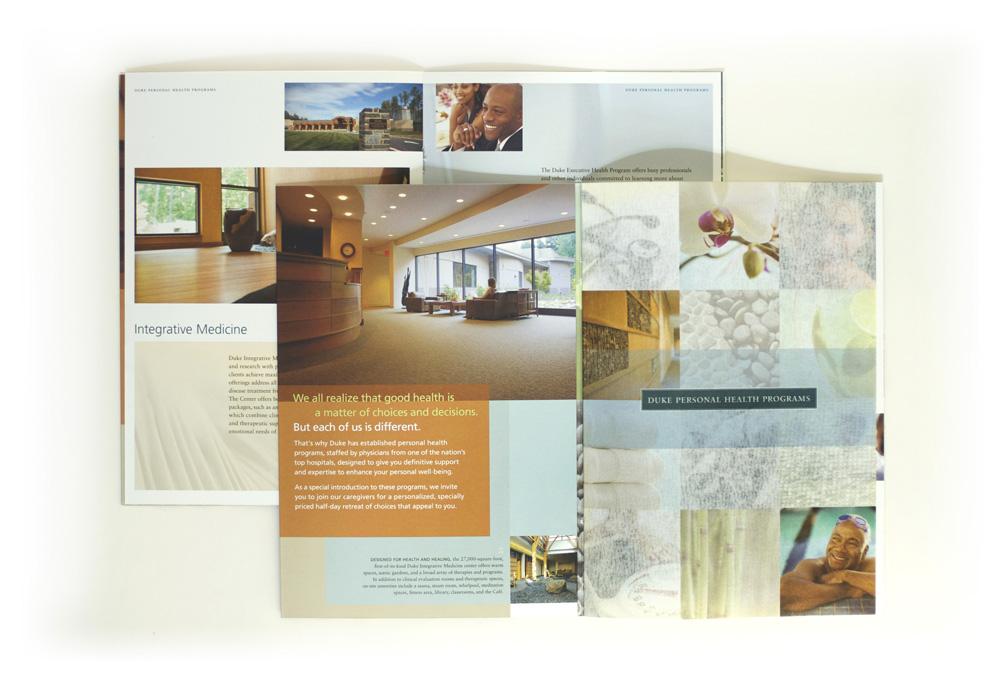 Duke Integrative Medicine retreat invite interior pages