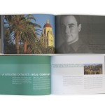 Stanford MBA brochure open