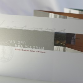 Stanford MBA mailer cover